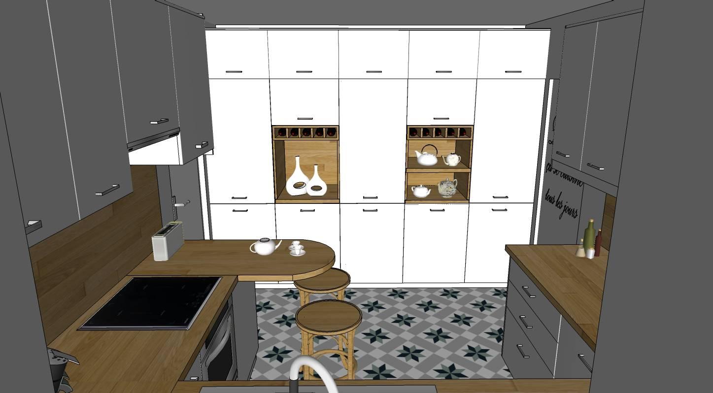 Projet cuisine sl page 3 cap 3 deco for Projet cuisine